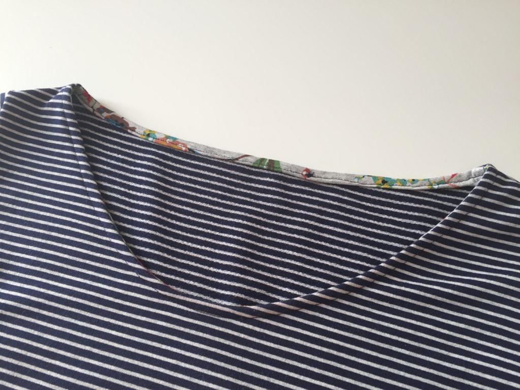 Ausschnitt selfmade dress