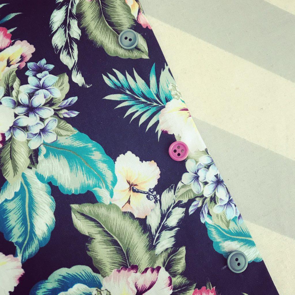 Bruna-Bluse aus LMV Knopfwahl
